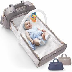 4-in-1 Convertible Baby Diaper Bag - Get Organized with Mult