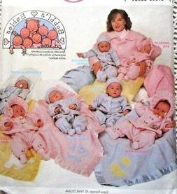 8443 SEWING PATTERN~UNCUT~BABY/INFANT/BOYS/GIRLS NB 7#-24#~L