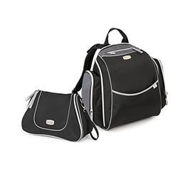 Chicco Urban Backpack and Dash Bag, Black