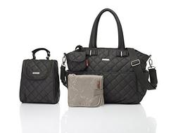 Storksak Bobby Quilted Diaper Tote Bags, Charcoal