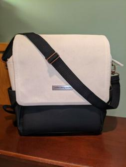 abundance boxy backpack in birch black