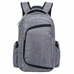 Cateep Travel Baby Diaper Backpack Bag Smart Organized with