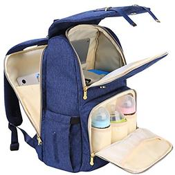 SUNVENO Baby Diaper Bag Backpack Nappy Changing Bag Waterpro