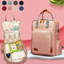 LEQUEEN Baby Diaper Bag Mummy Maternity Nappy Waterproof Tra