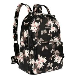 Baby Diaper Bag Nappy Backpack Mummy PU Leather Large Capaci