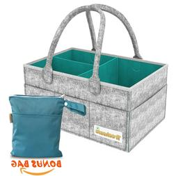 Baby Diaper Caddy Organizer | Registry for Baby Shower | Dia