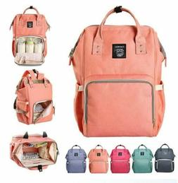Baby Nappy Backpack Large Capacity Waterproof Bag Baby Care