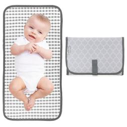 Baby Portable Changing Pad, Diaper Bag, Travel Mat Station