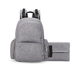 Backpack Diaper Bag for Mom - and Dad   Stroller Straps, Cha