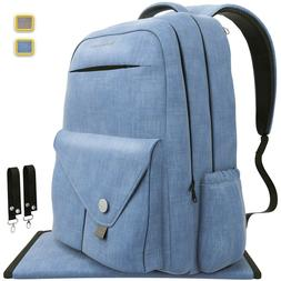 Backpack Diaper Bag Waterproof Multi-Function
