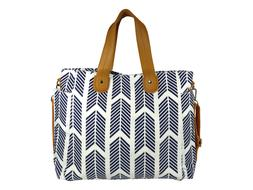 Blue Arrows Weekender Tote Bag by White Elm - Diaper Nappy B