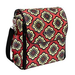 Petunia Pickle Bottom Boxy Back Pack Diaper Bag in Lively Li