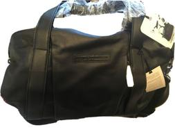 Storksak + Bugaboo Leather Diaper Bag + Padded changing mat!