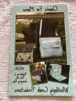 CLASSICS FOR MOM baby diaper bag Pattern, Whistlepig creek p
