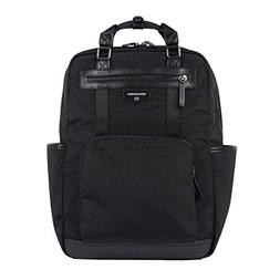 TWELVElittle Unisex Courage Backpack Diaper Bag, Black