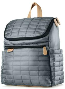 Maman Designer Diaper Bag Backpack with Stroller Straps. NWT