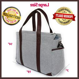 Designer Diaper Bag | Large and Durable | Gender Neutral Tot