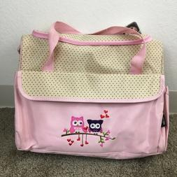 Soho Designs Ellie & Luke Monkey Diaper Baby Bag W/ Changing