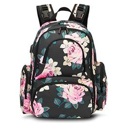 CoolBELL Baby Diaper Backpack Bag with Insulated Pockets/Wat