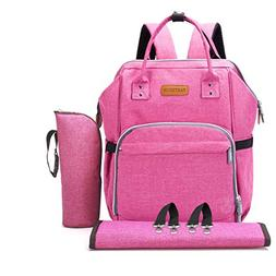 Diaper Bag Baby Backpack with Changing Pad, Insulated Cooler