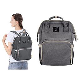 Diaper Bag, Tinabless Multi-Function Travel Backpack with In