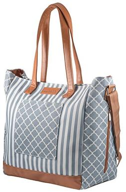 Diaper Bag by Blessed Momma - Designer Aventura Tote - W/ La