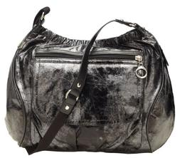 Ju-Ju-Be Be All Diaper Bag, Black Cherry Twirl