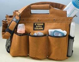 Lillian Rose Diaper Bag, Building The Foundation Daddy, 17.5