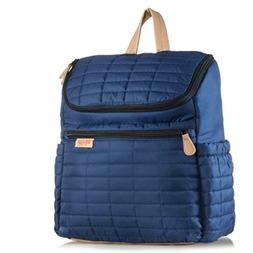 Diaper Bag Backpack- by MAMAN - with Matching Changing Pad a