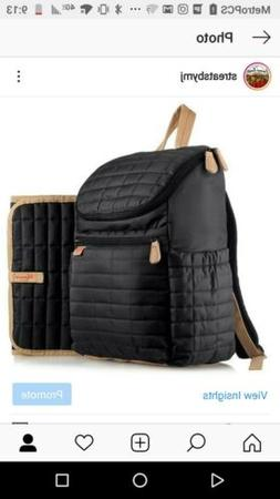 Diaper Bag Backpack- by MAMAN - with Matching Changing pad.