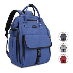 Diaper Bag Backpack with Anti-Theft Design, 15 Pockets, Larg