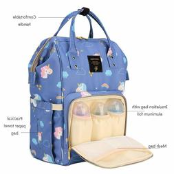 SUNVENO Diaper Bag Backpack, Insulated Mommy Bag with USB