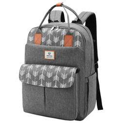 Diaper Bag Backpack Mummy Travel Large Bag with Changing Pad