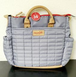 Maman Diaper Bag Classic Grey / Brown New With Tags! #ST-2