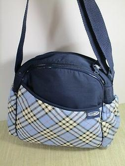 diaper bag cross body strap medium navy