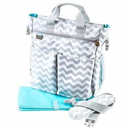 Baby Diaper Bag with Changing Pad Adjustable Shoulder Strap