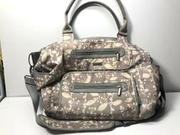 diaper bag for baby gray ash woodland