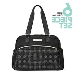 SoHo Diaper Bag Lincoln 5 Pieces Nappy Tote Multifunction Ba