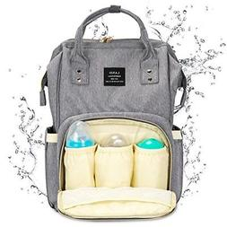 Landuo Diaper Bag Multi-Function Waterproof Travel Backpack
