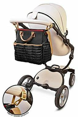 Diaper Bag Nappy Bag with Matching Changing Pad Stylish Desi