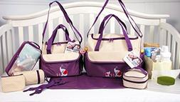 10 Pieces Diaper Bag SetLimited time offer