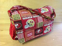 Diaper Bag- SF 49ers Style #2/ Red