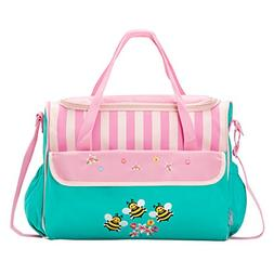 10 Pieces Baby Diaper Bag Fashion Stylish Bags Set -Dancing