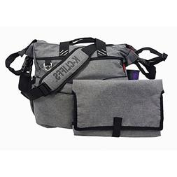 Fashion Diaper Bag Quality Baby Diaper Organizer Tote Bag Mo