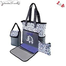 Personalized Premium Diaper Bag | Baby Tote Bags | 4 in 1 Di