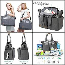 Diaper Bag Tote Satchel Diaper Messenger for Mom and Girls i