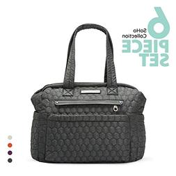 SoHo diaper bag Union Square 6 pieces nappy tote travel bag