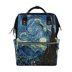Diaper Bags Beauty Starry Night Fashion Mummy Backpack Multi