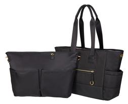 Infant Skip Hop 'Chelsea' Diaper Tote - Black