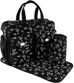 diaper tote stylish nappy messenger